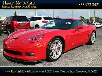 2009 Chevrolet Corvette Z06 Coupe for sale 100913772