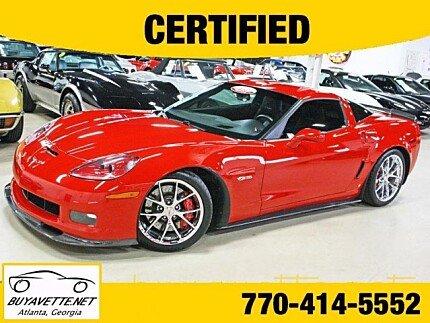 2009 Chevrolet Corvette Z06 Coupe for sale 100872870