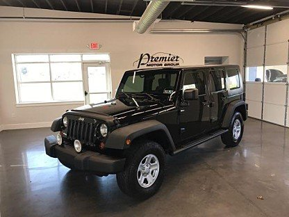 2009 Jeep Wrangler 4WD Unlimited X for sale 100980021