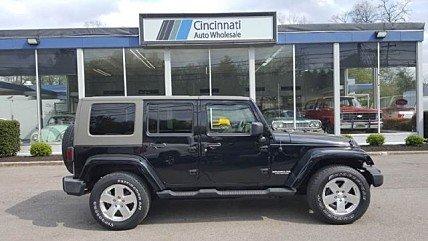 2009 Jeep Wrangler 4WD Unlimited Sahara for sale 100984038