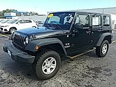 2009 Jeep Wrangler 4WD Unlimited X for sale 101028742