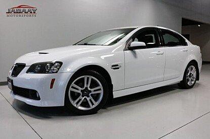 2009 Pontiac G8 for sale 100931678