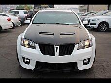 2009 Pontiac G8 GXP for sale 101050830