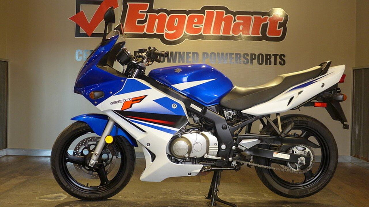 2009 Suzuki GS500 for sale 200587103
