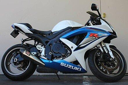 2009 Suzuki GSX-R600 for sale 200564252
