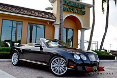 2010 Bentley Continental GTC Speed Convertible for sale 100770606