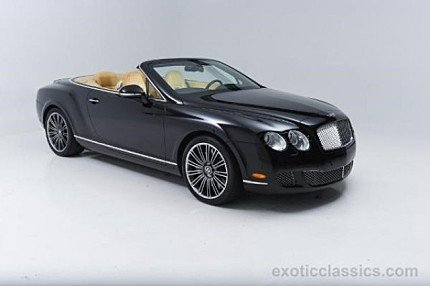 2010 Bentley Continental GTC Speed Convertible for sale 100836708