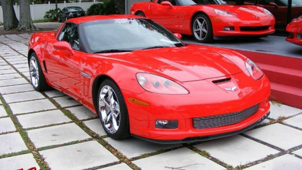 2010 Chevrolet Corvette Grand Sport Coupe for sale 100853932