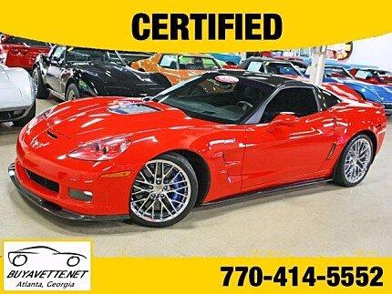 2010 Chevrolet Corvette ZR1 Coupe for sale 101045700