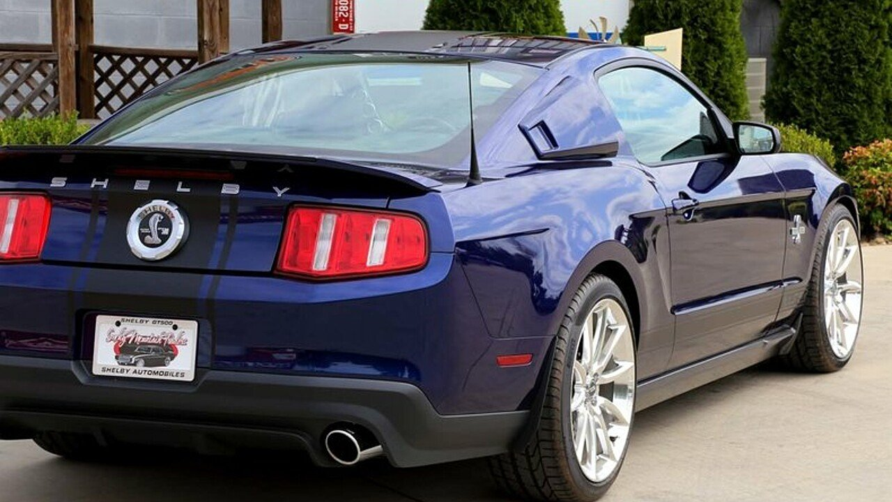 All Types 2010 mustang shelby : 2010 Ford Mustang Shelby GT500 Coupe for sale near Maryville ...