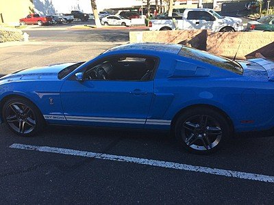 2010 Ford Mustang Shelby GT500 Coupe for sale 100771979