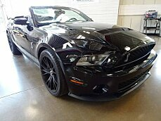 2010 Ford Mustang Shelby GT500 Convertible for sale 100981216