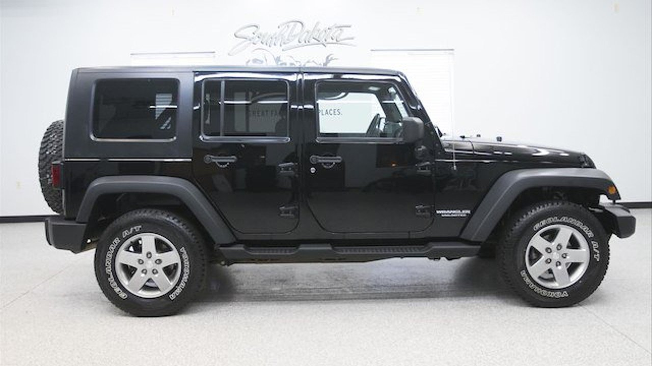 2010 Jeep Wrangler 4WD Unlimited Sport for sale 100765967