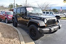 2010 Jeep Wrangler 4WD Unlimited Rubicon for sale 100959432