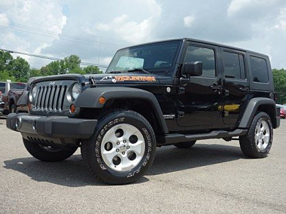 2010 Jeep Wrangler 4WD Unlimited Sport for sale 100997519