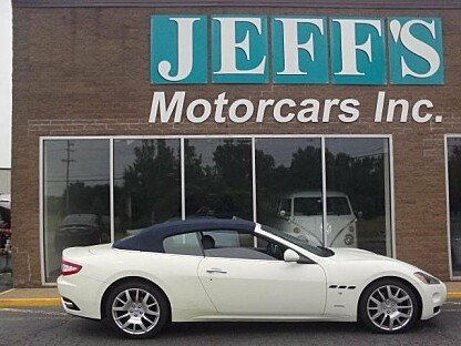 2010 Maserati GranTurismo Convertible for sale 100779589