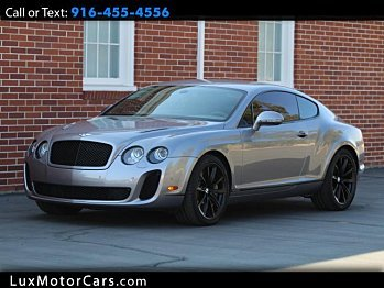 2010 bentley Continental Supersports Coupe for sale 101016793