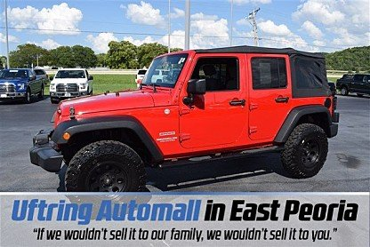 2010 jeep Wrangler 4WD Unlimited Sport for sale 101025994
