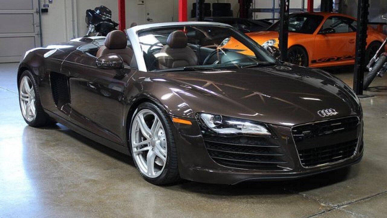 2011 Audi R8 4.2 Spyder for sale 101024995