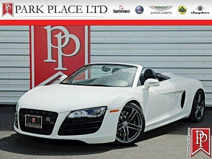 2011 Audi R8 5.2 Spyder for sale 100877219