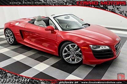 2011 Audi R8 5.2 Spyder for sale 100894269