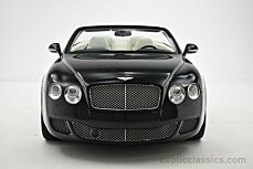 2011 Bentley Continental GTC Convertible for sale 100859829