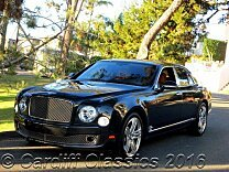 2011 Bentley Mulsanne for sale 100740494