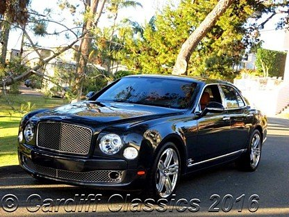 2011 Bentley Mulsanne for sale 100740494