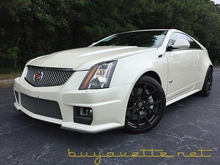 2011 Cadillac CTS V Coupe for sale 100892540