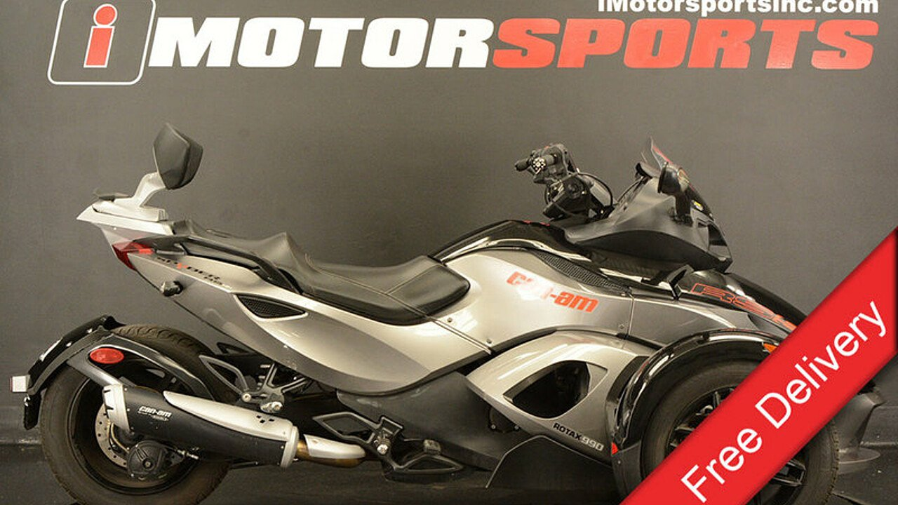 2011 Can-Am Spyder RS for sale 200549921