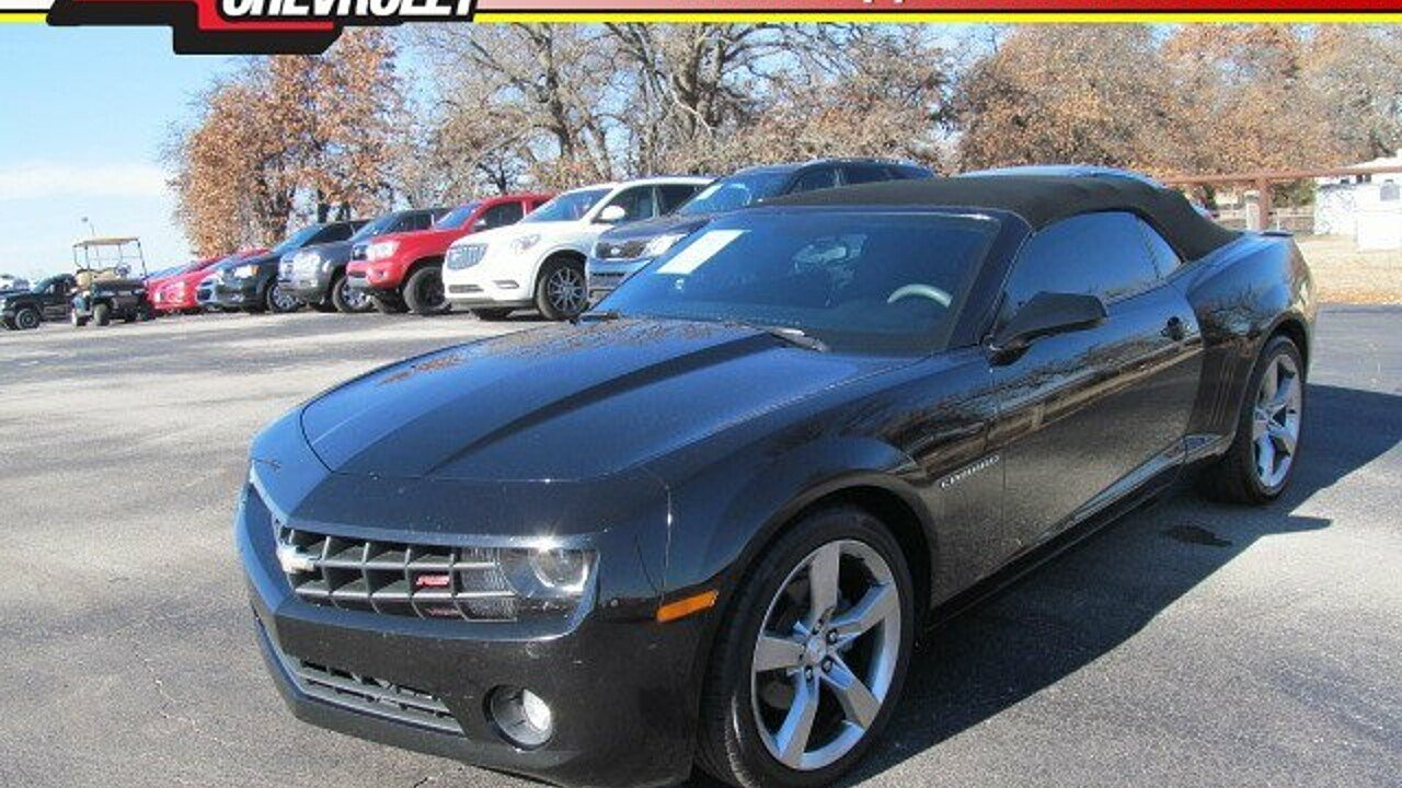 2011 Chevrolet Camaro LT Convertible for sale 100928984