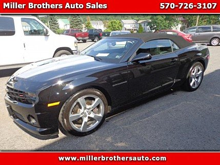 2011 Chevrolet Camaro SS Convertible for sale 100733111