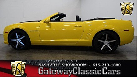 2011 Chevrolet Camaro SS Convertible for sale 100948482