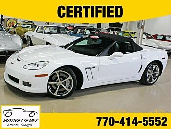 2011 Chevrolet Corvette Grand Sport Convertible for sale 100789966
