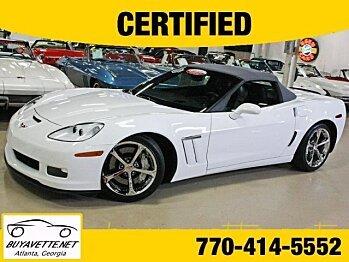 2011 Chevrolet Corvette Grand Sport Convertible for sale 100821572