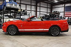 2011 Ford Mustang Shelby GT500 Convertible for sale 100934729
