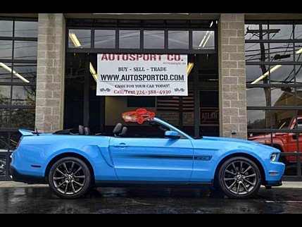 2011 Ford Mustang GT Convertible for sale 100983231