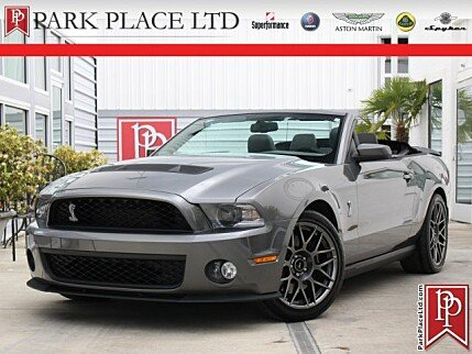 2011 Ford Mustang Shelby GT500 Convertible for sale 100988234