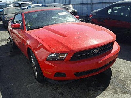 2011 Ford Mustang Convertible for sale 101045390