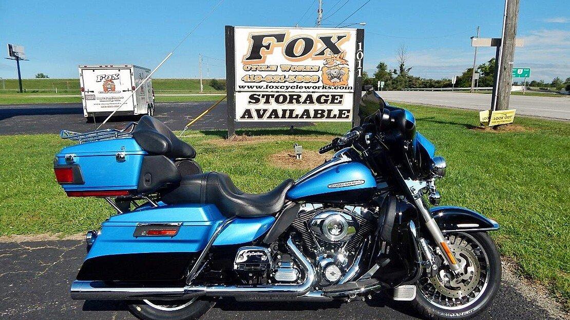 2011 Harley-Davidson Touring Electra Glide Ultra Limited for sale 200627733