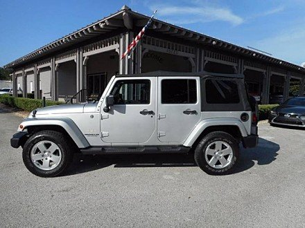 2011 Jeep Wrangler 4WD Unlimited Sahara for sale 100904417