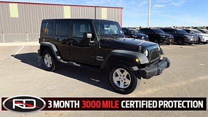 2011 Jeep Wrangler 4WD Unlimited Sport for sale 100929601