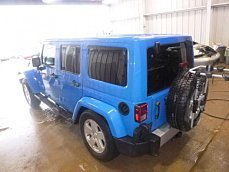 2011 Jeep Wrangler 4WD Unlimited Sahara for sale 100954771