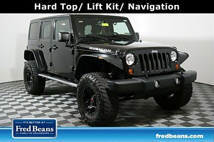 2011 Jeep Wrangler 4WD Unlimited Rubicon for sale 101005661