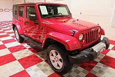 2011 Jeep Wrangler 4WD Unlimited Sahara for sale 101050558