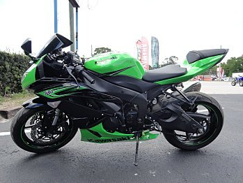 2011 Kawasaki Ninja ZX-6R for sale 200448648