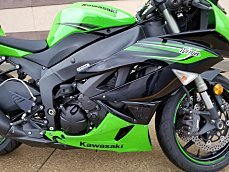 2011 Kawasaki Ninja ZX-6R for sale 200536786