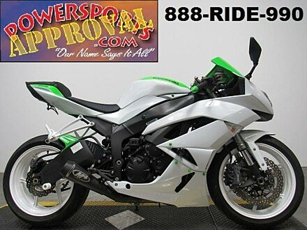2011 Kawasaki Ninja ZX-6R for sale 200642861