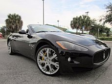 2011 Maserati GranTurismo Convertible for sale 100797421