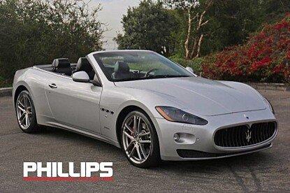 2011 Maserati GranTurismo Convertible for sale 100755077